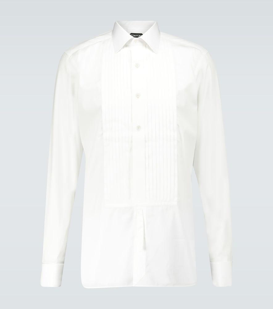 Chemise en coton à plastron - Tom Ford - Modalova