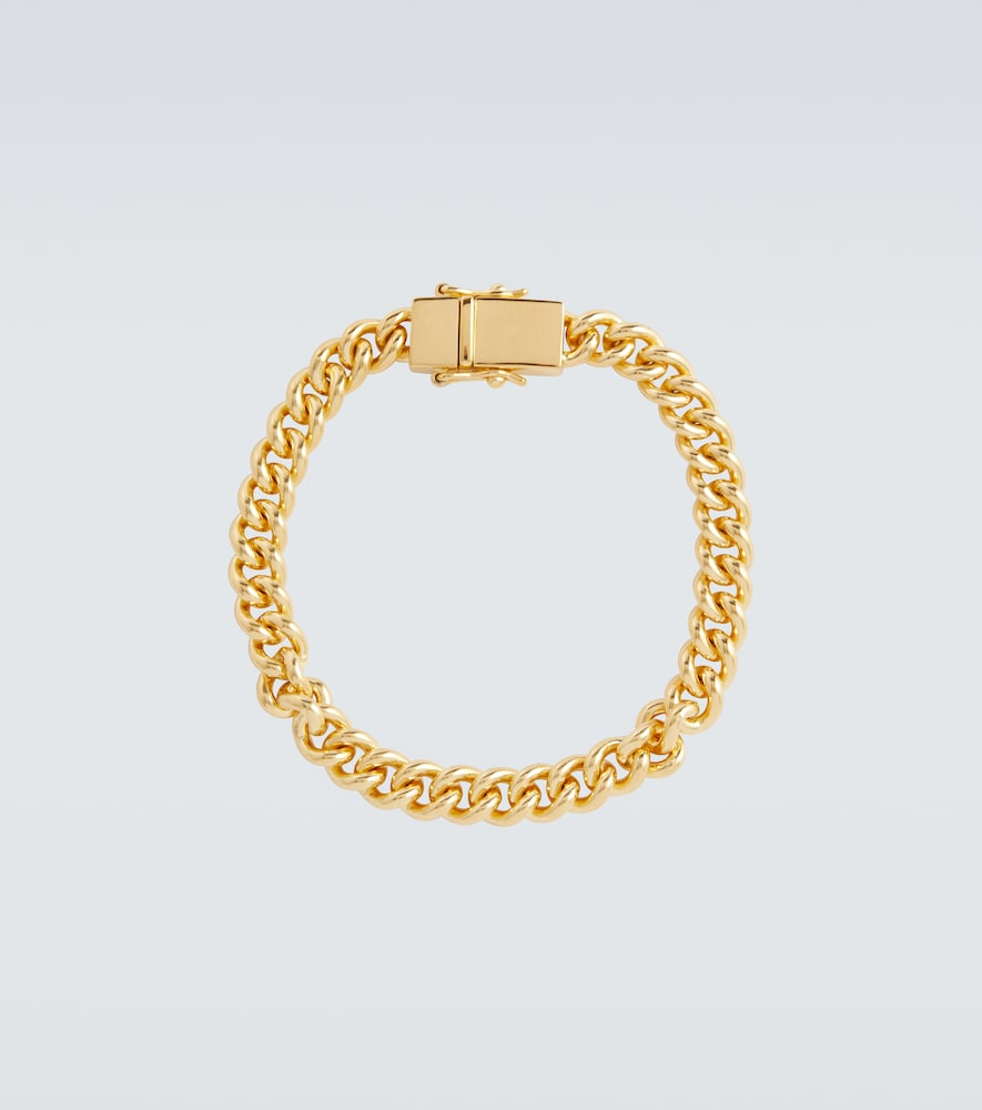 Bracelet en plaqué or maille arrondie - Tom Wood - Modalova