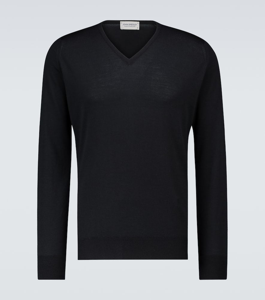 Bobby merino wool V-neck sweater