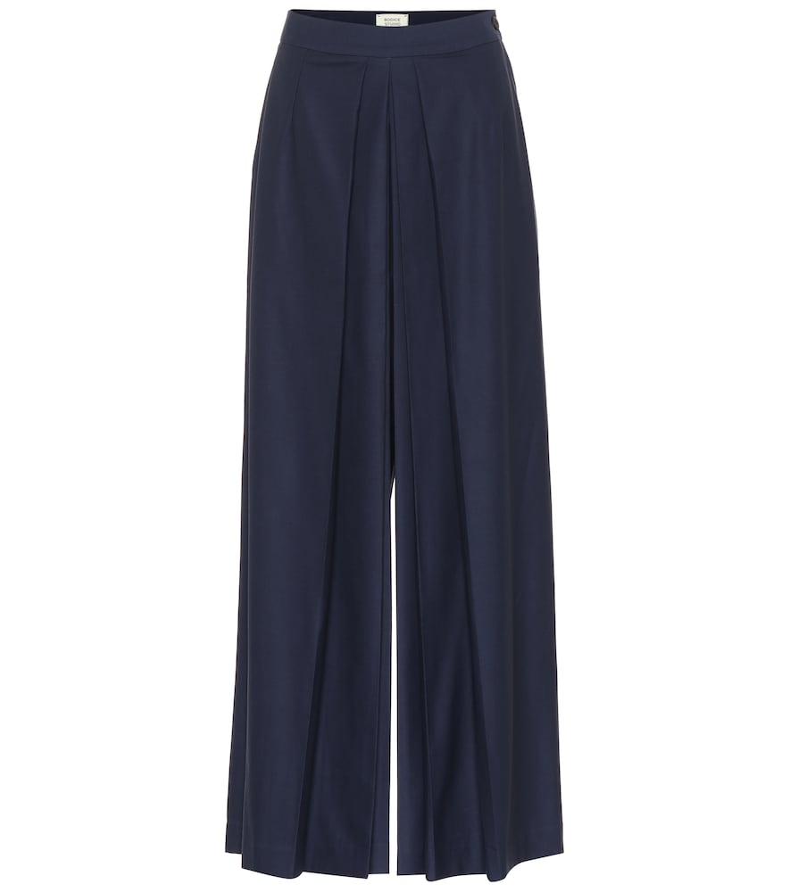 BODICE STUDIO WIDE-LEG MERINO WOOL PANTS