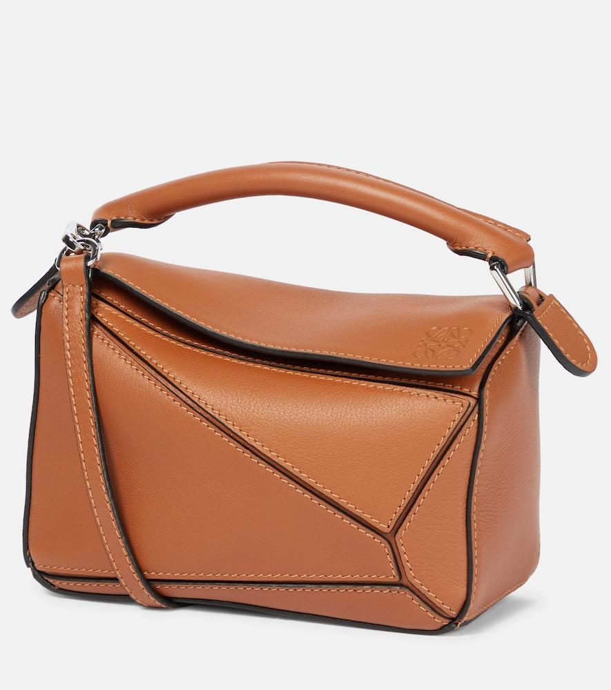 Puzzle Mini leather shoulder bag