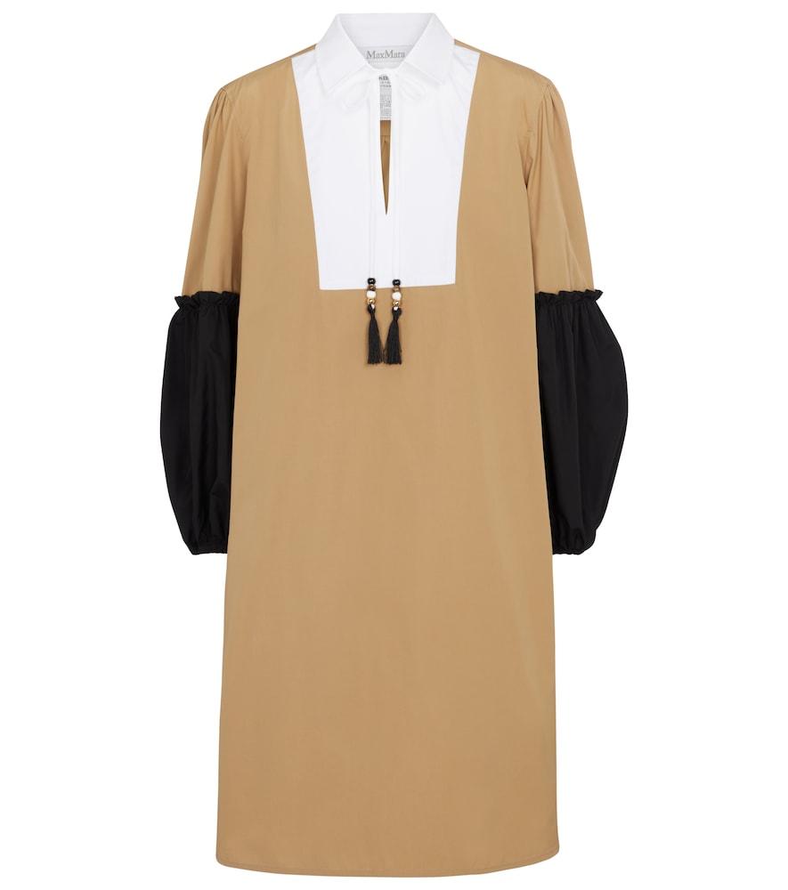 Fornovo cotton poplin midi dress by Max Mara