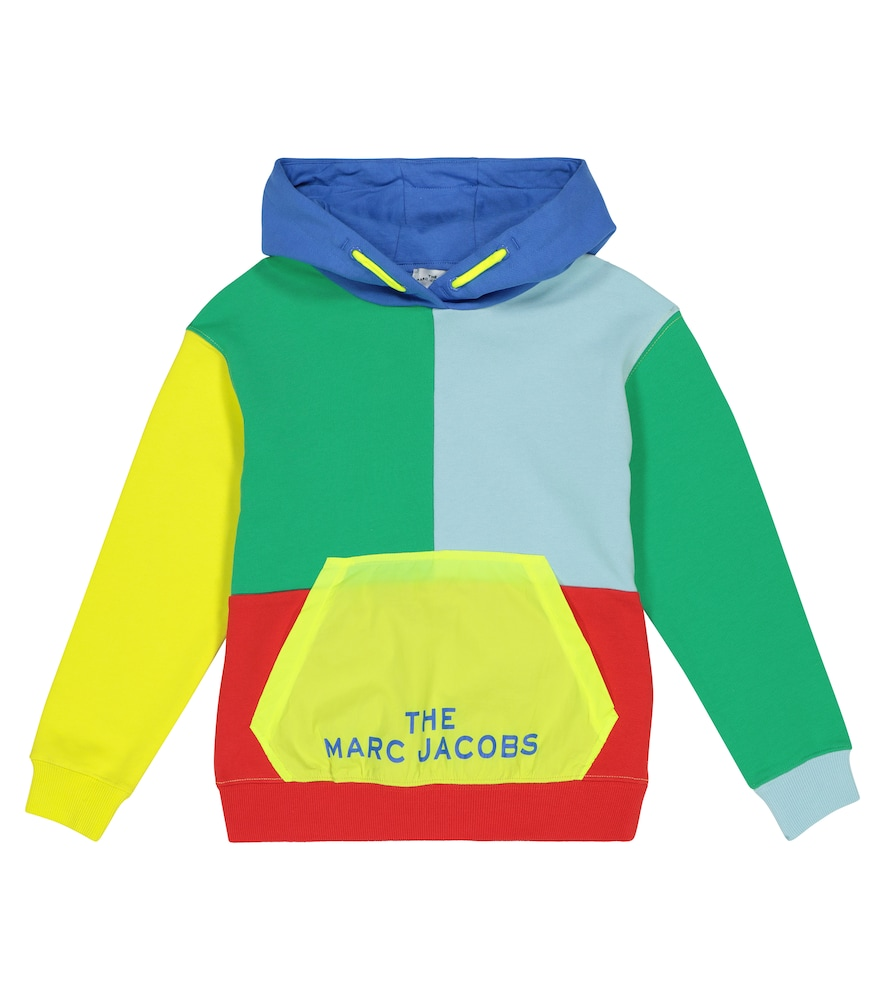The Marc Jacobs LOGO COTTON JERSEY HOODIE