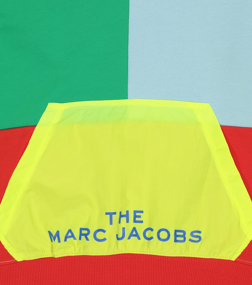 THE MARC JACOBS Cottons LOGO COTTON JERSEY HOODIE