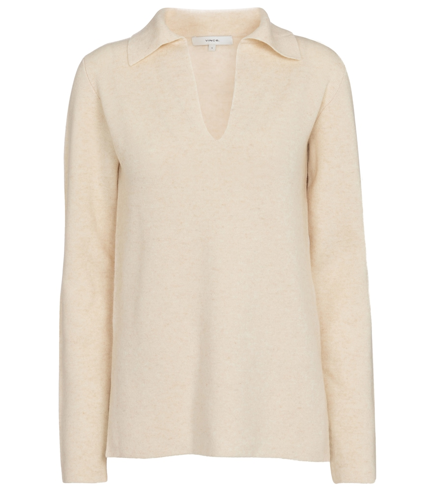 Vince Wools WOOL AND CASHMERE SWEATER