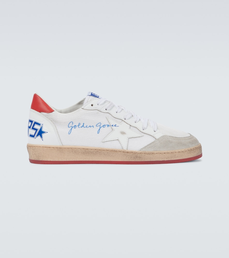 Golden Goose BALL STAR NET SNEAKERS