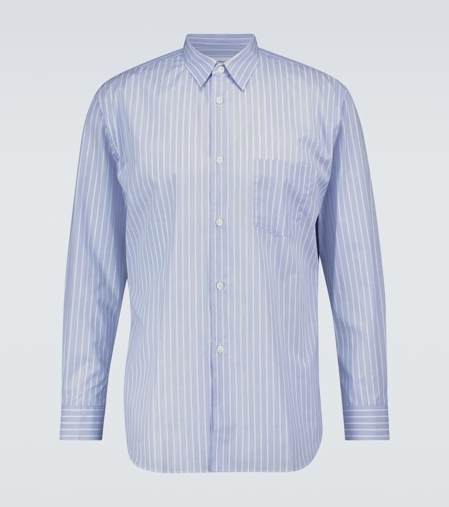 Striped long-sleeved shirt