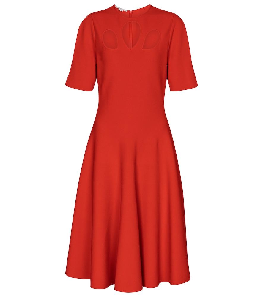 Cut-out midi dress by Stella McCartney