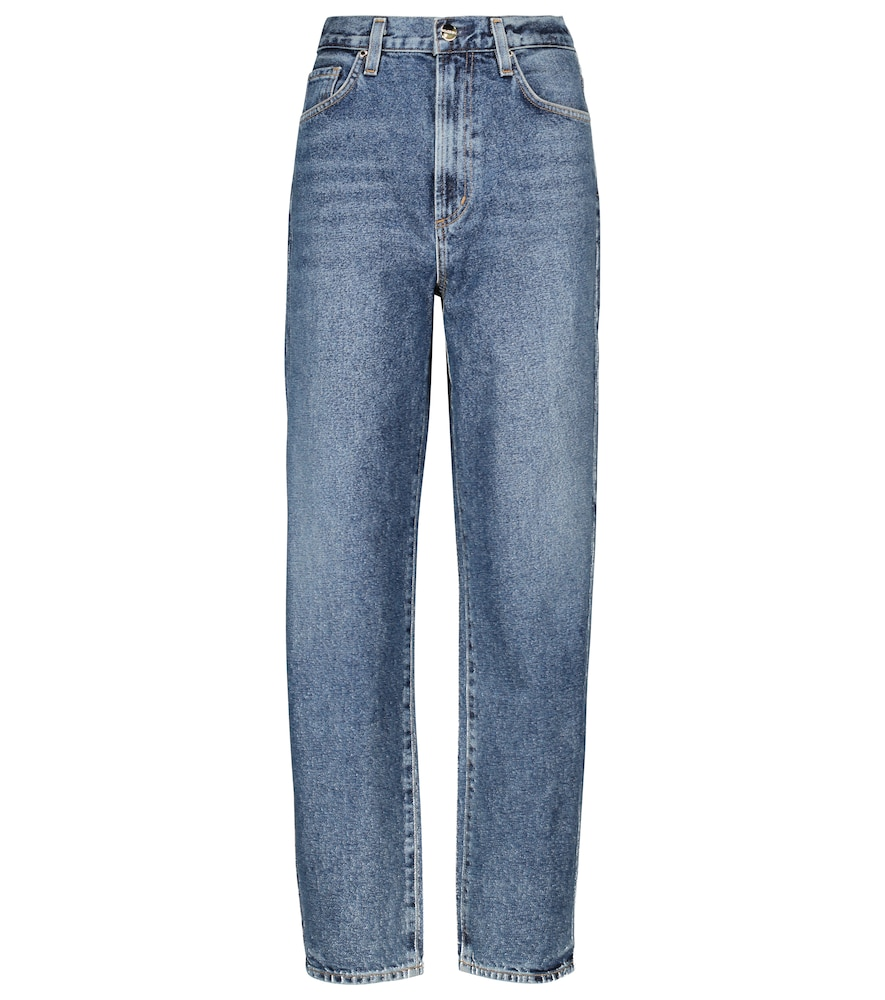 The Palmer high-rise tapered jeans