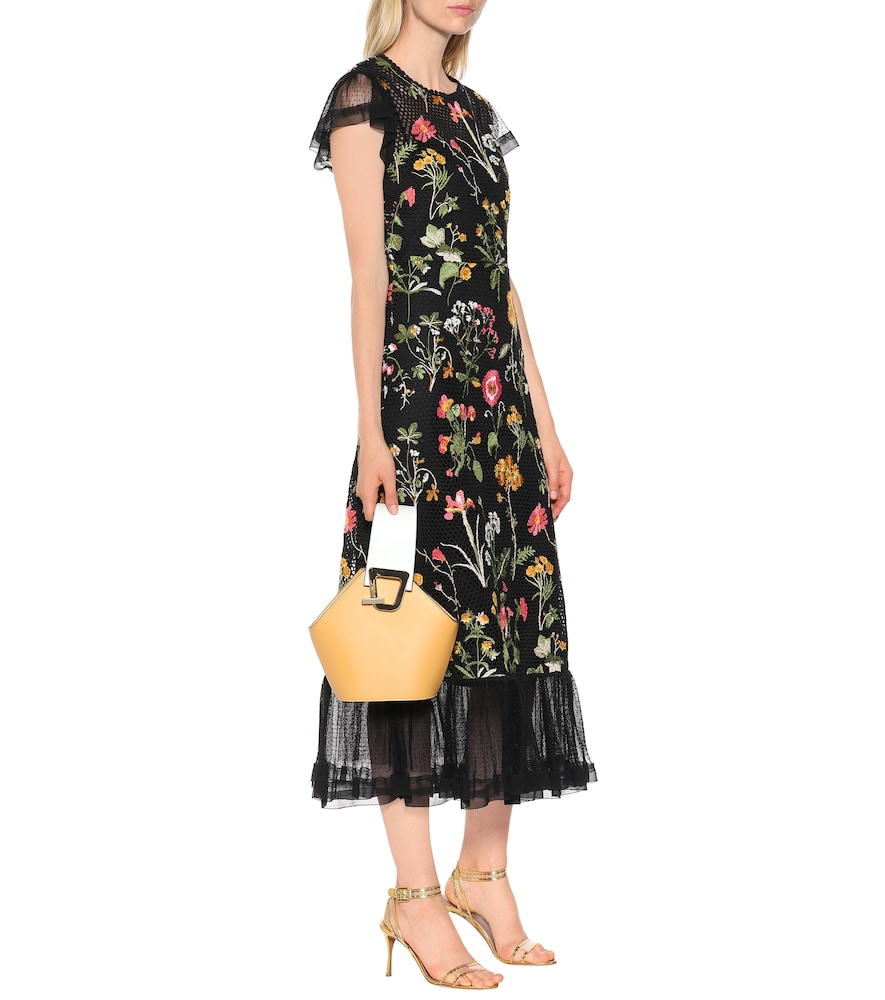 Floral cotton dress by REDValentino