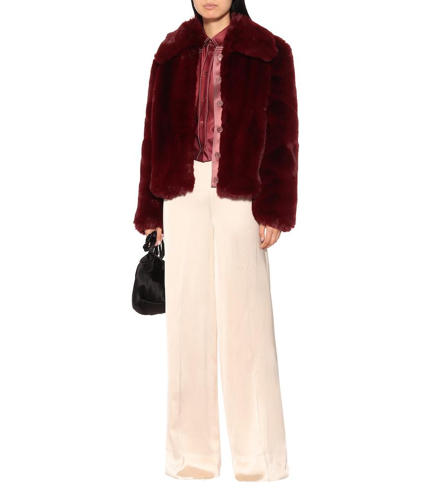 Felice faux fur coat by Sies Marjan