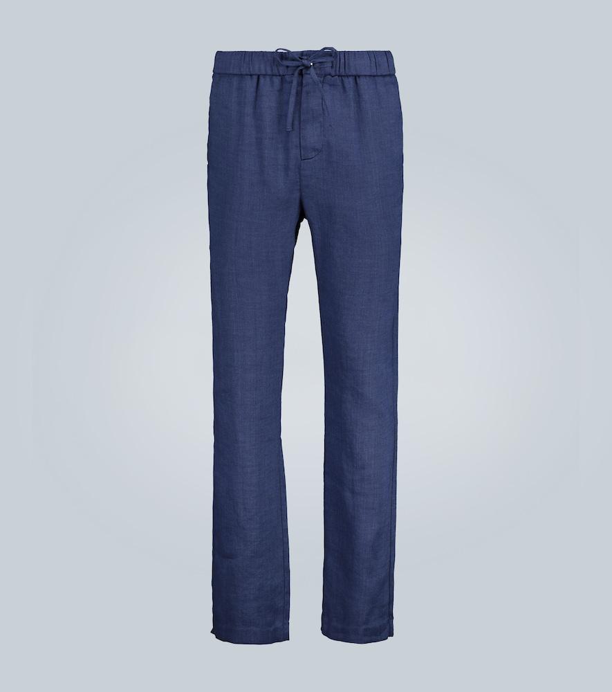 Pantalon droit en lin - Frescobol Carioca - Modalova