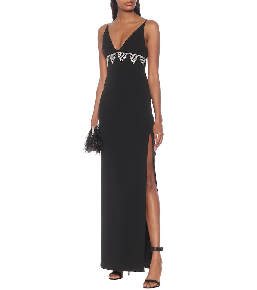 Exclusive to Mytheresa - Crystal-embellished column gown by David Koma