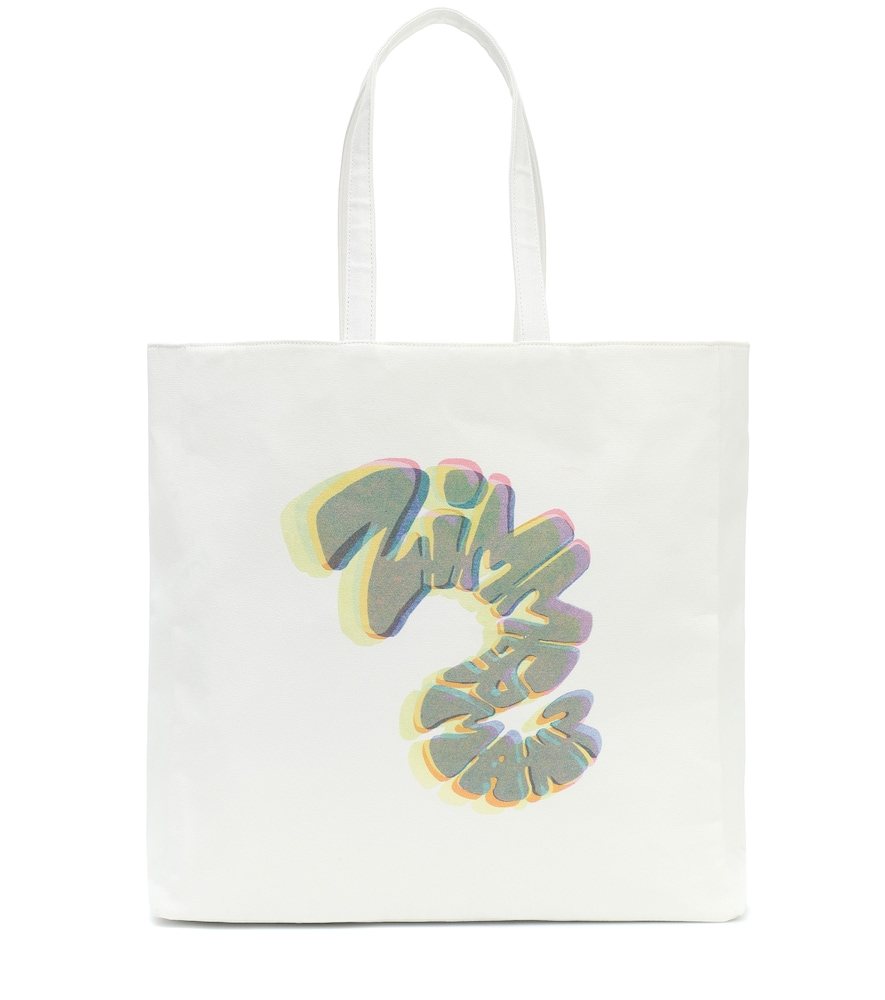Exclusive to Mytheresa - Logo canvas tote
