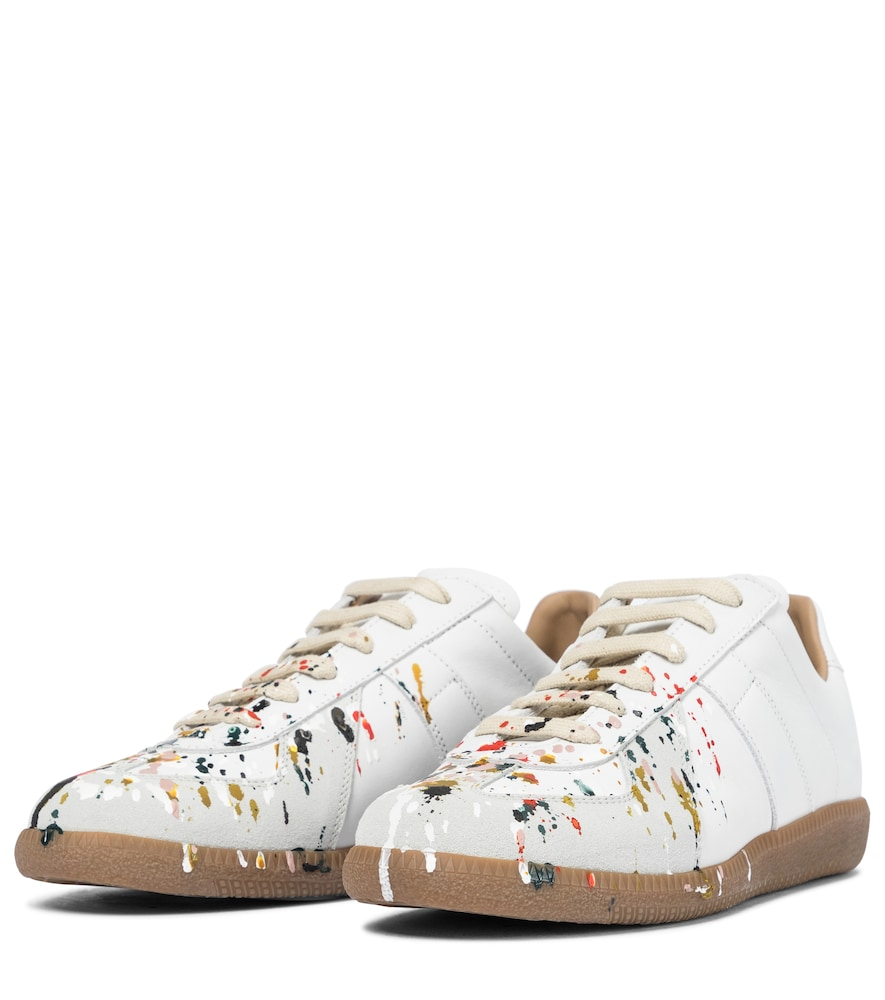 MAISON MARGIELA Low tops REPLICA LEATHER SNEAKERS