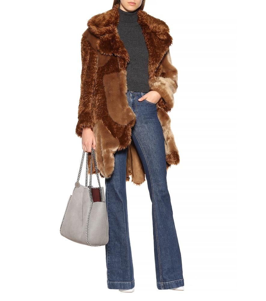 Sugar Cane faux fur coat by Stella McCartney