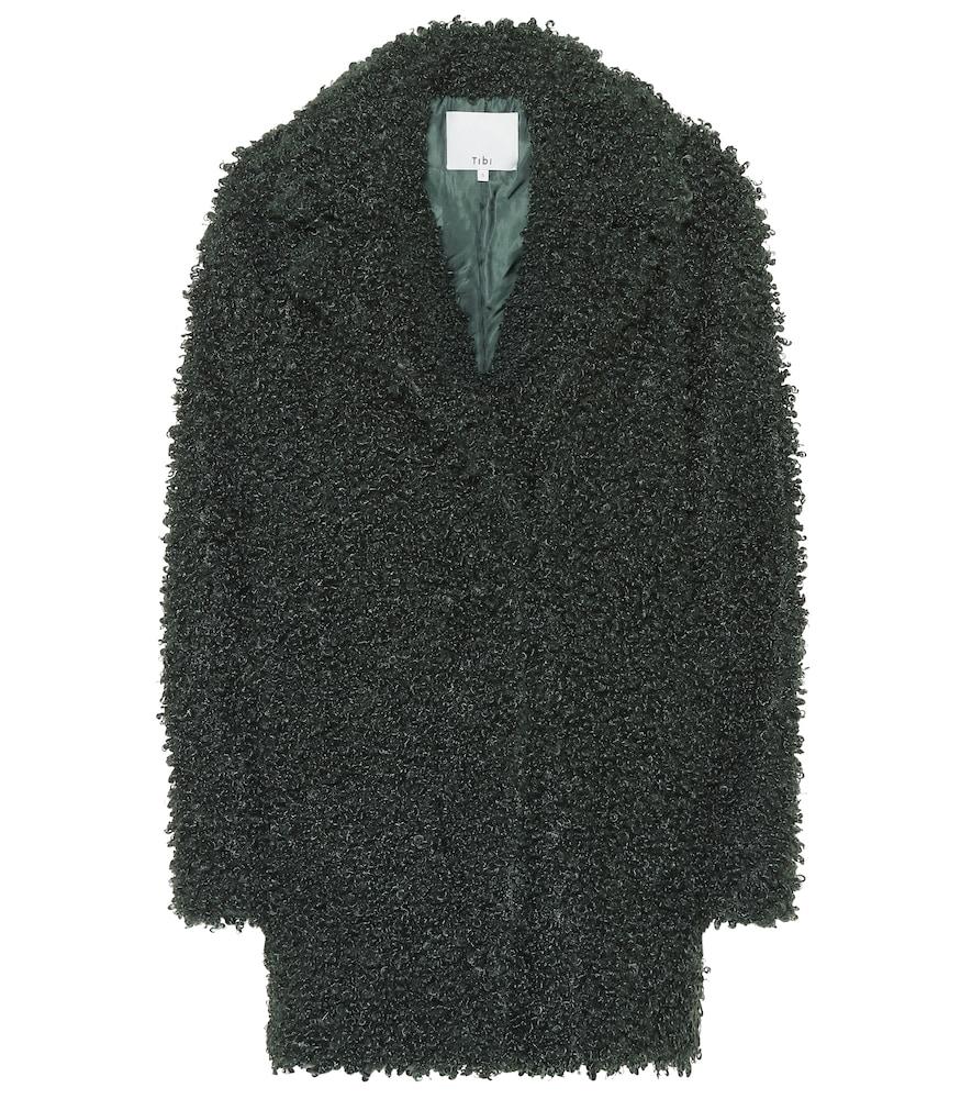 Manteau Faux Curly Shearling Coat en shearling synthétique