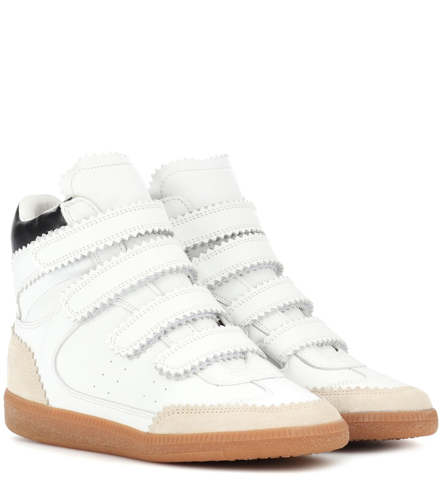 Baskets compensées en cuir Bilsy - Isabel Marant - Modalova