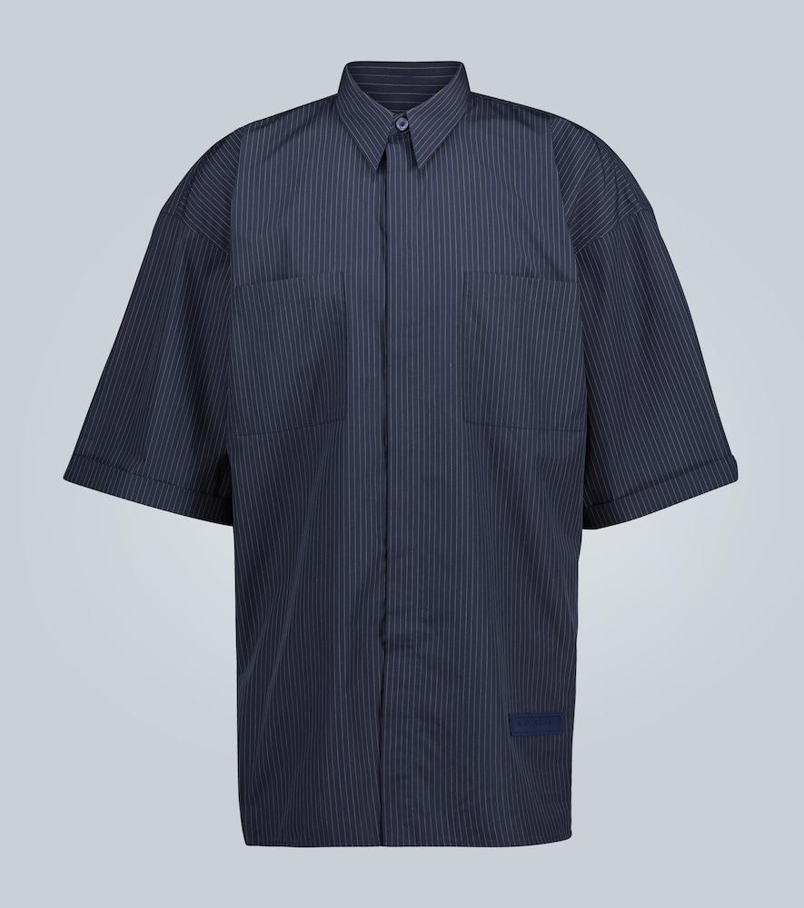 Chemise manches courtes rayée - Givenchy - Modalova