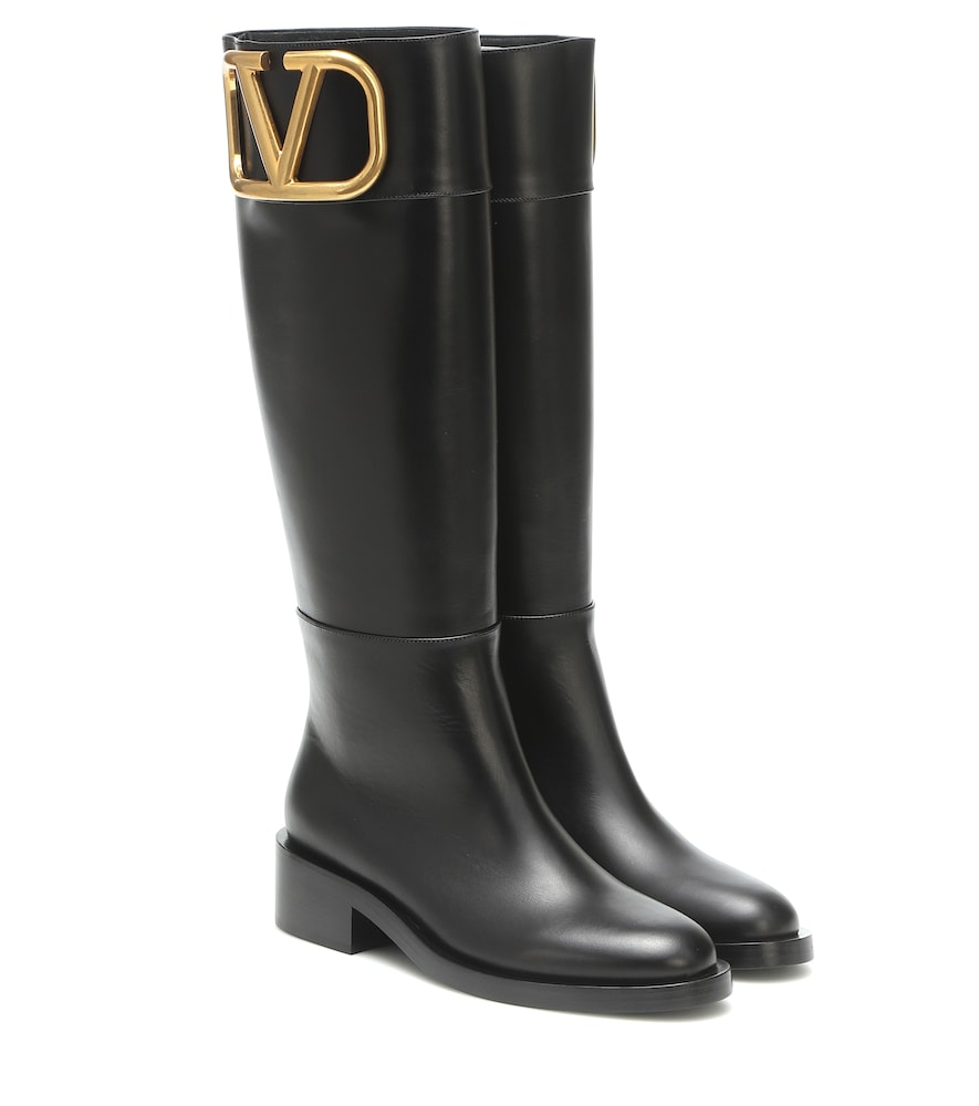 Valentino SUPERVEE LEATHER KNEE-HIGH BOOTS
