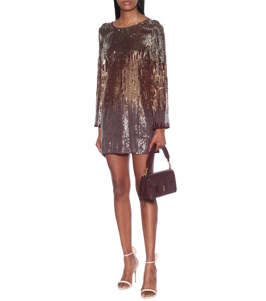 Aria sequined minidress by Rixo