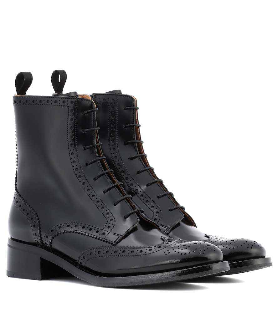 Church's SYLVIE LEATHER ANKLE BOOTS