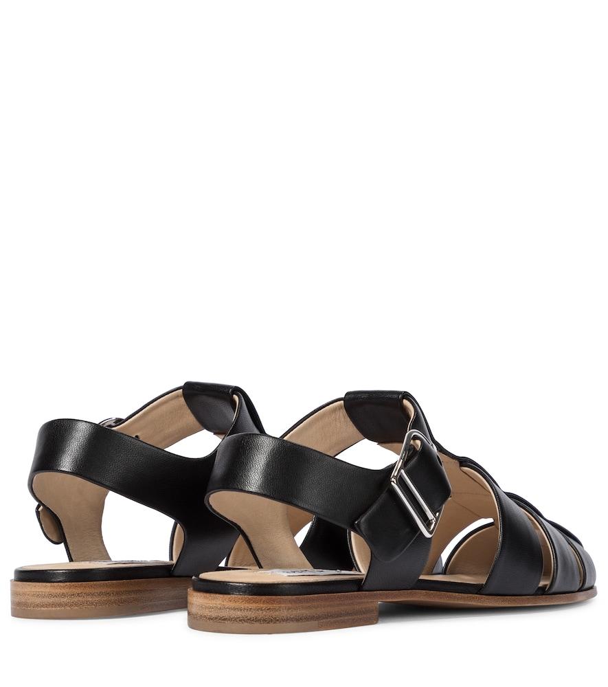 GABRIELA HEARST Sandals LYNN LEATHER SANDALS