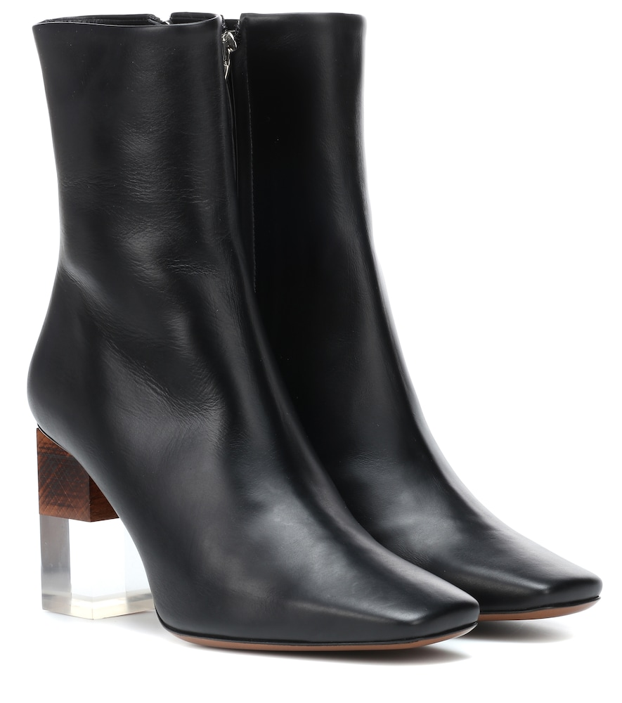 NEOUS HEA LEATHER ANKLE BOOTS