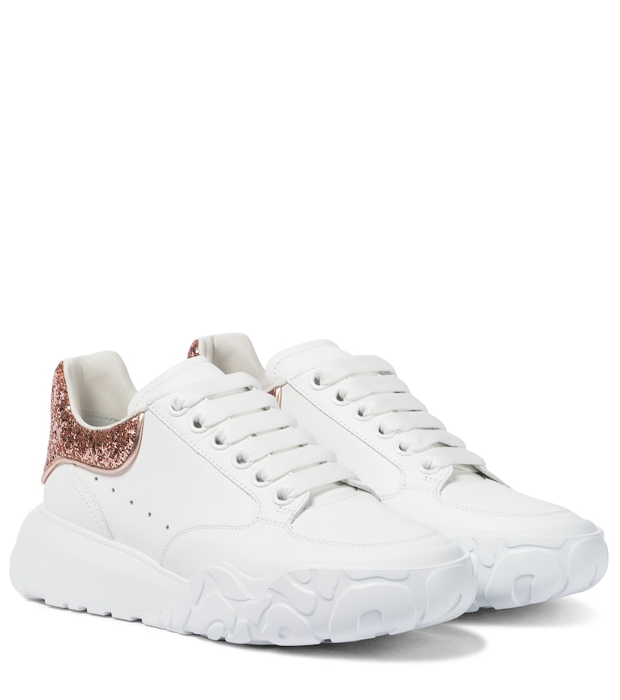 Alexander Mcqueen COURT LEATHER SNEAKERS