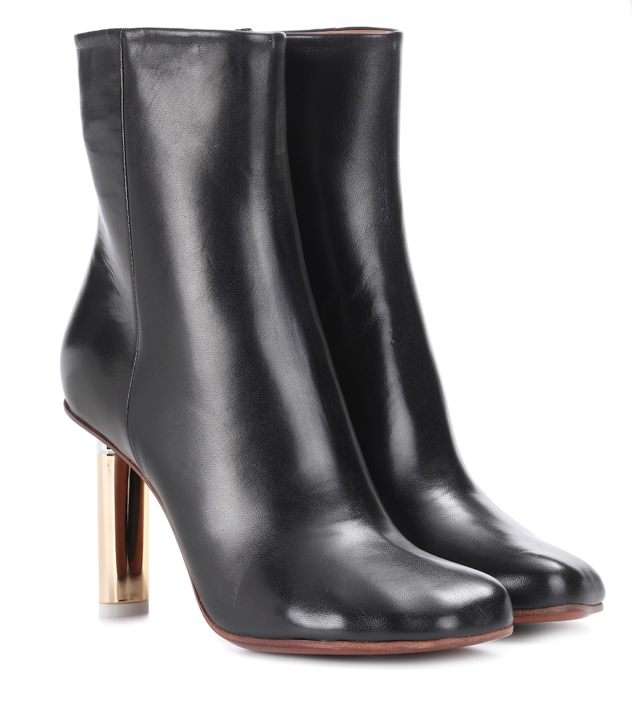 VETEMENTS | Leather Ankle Boots | Goxip