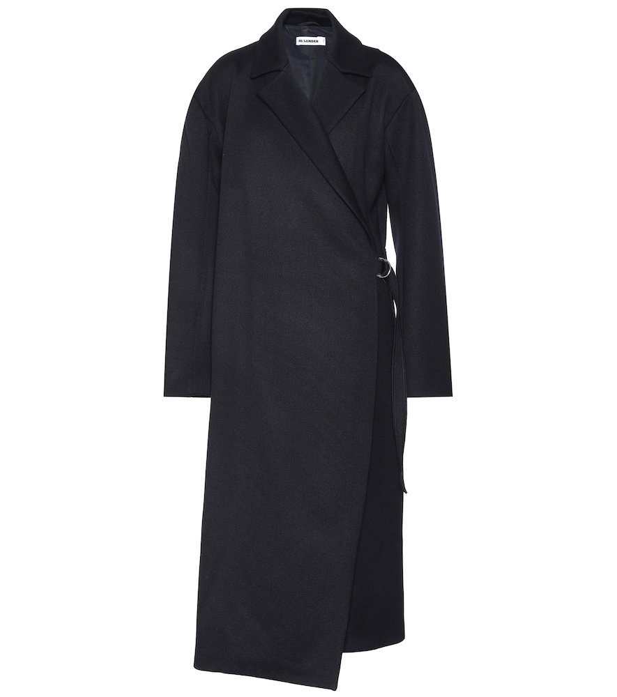 Coat - Dark Blue from Jil Sander