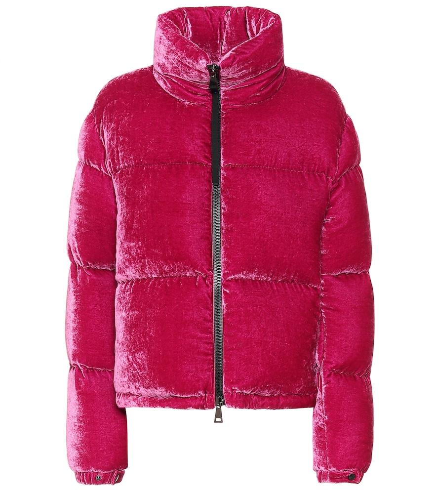 Rimac velvet down jacket