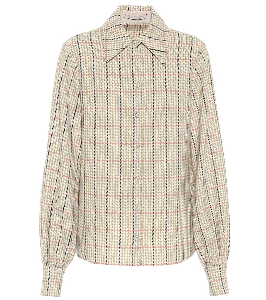 Petula checked wool shirt
