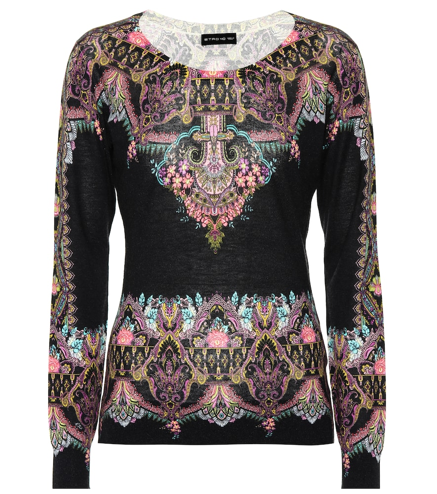 SILK AND CASHMERE TOP