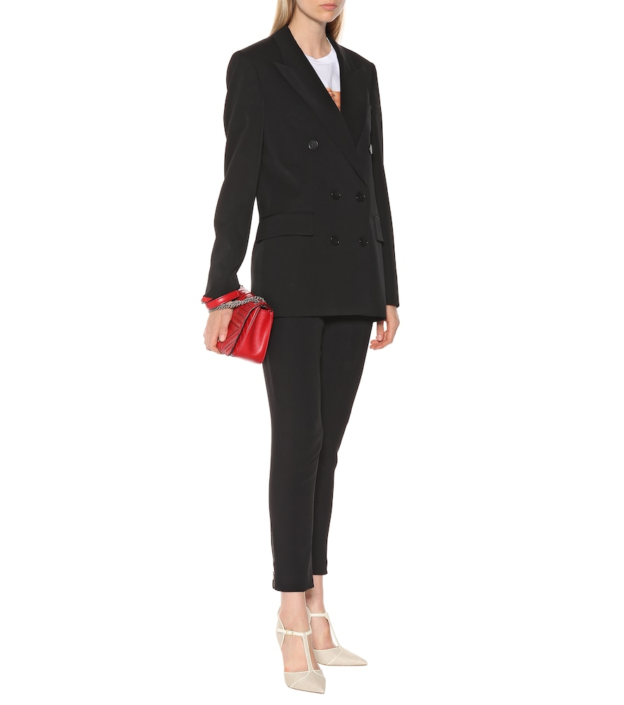 Photo of Double-breasted wool blazer by Stella McCartney - shop Stella McCartney Jackets, Blazers online