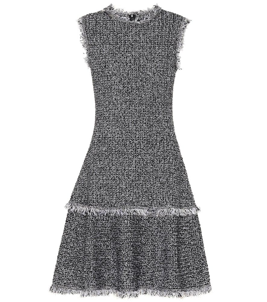 OSCAR DE LA RENTA BOUCLÉ WOOL-BLEND DRESS