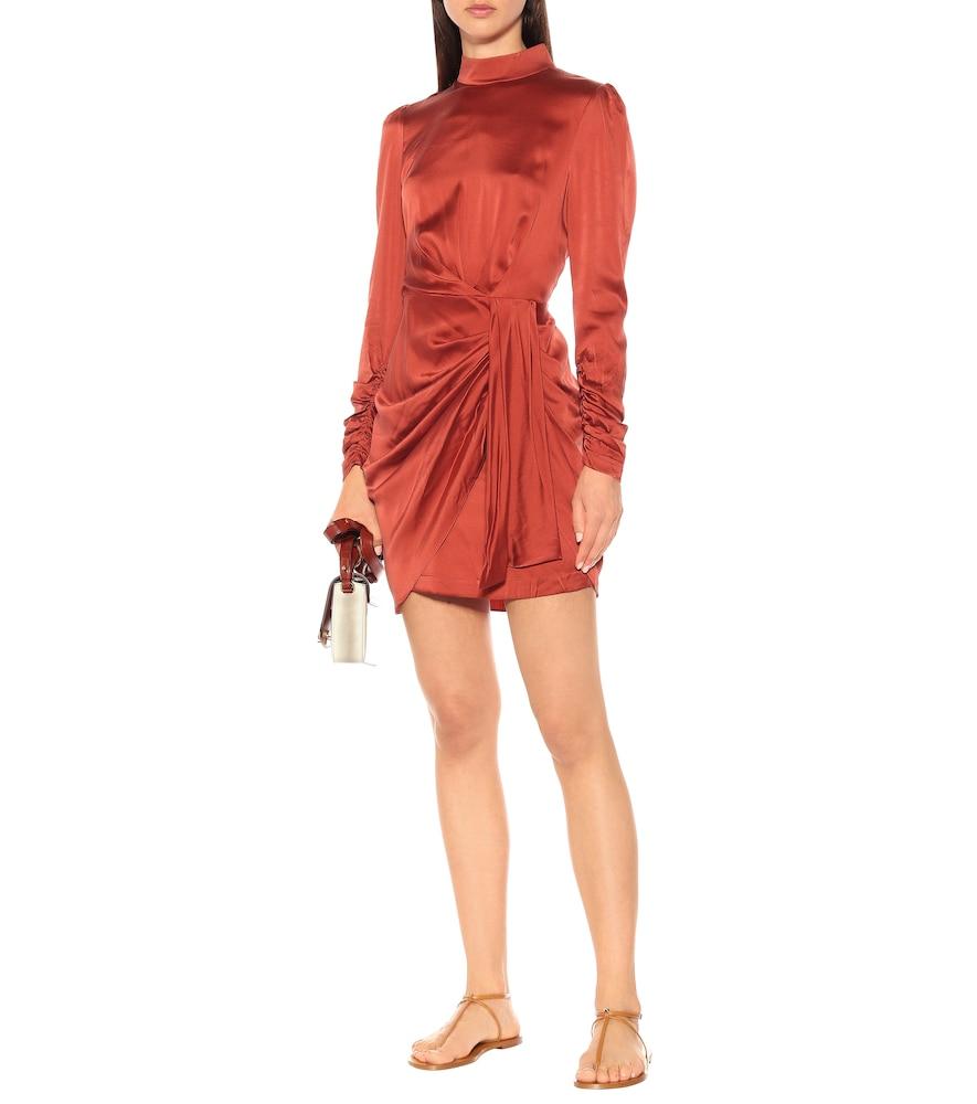 Espionage stretch-silk dress by Zimmermann