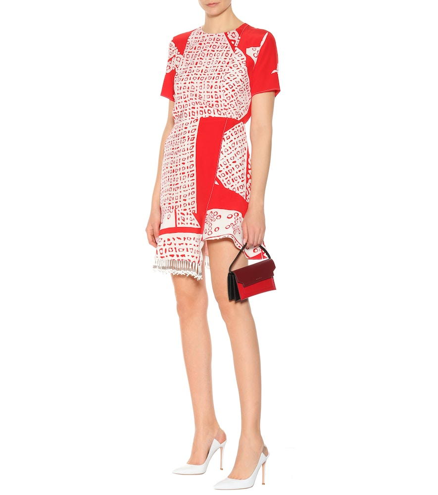 Tournelle printed silk dress by Altuzarra