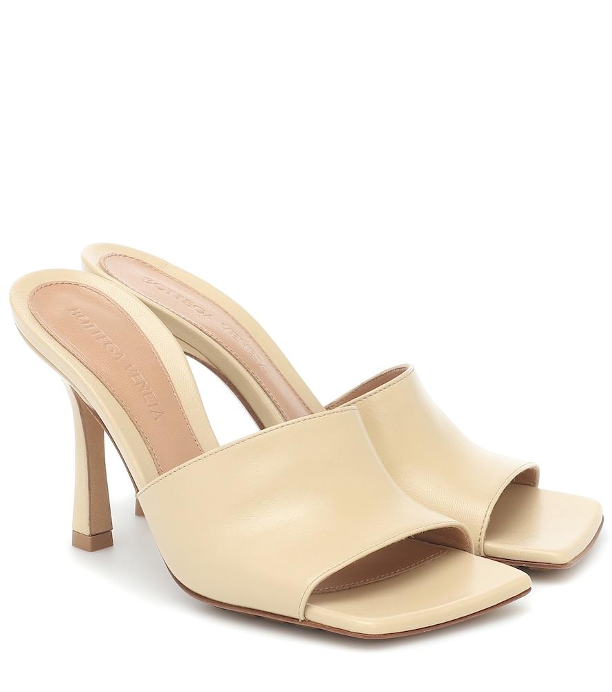 Bottega Veneta Leathers Stretch leather sandals