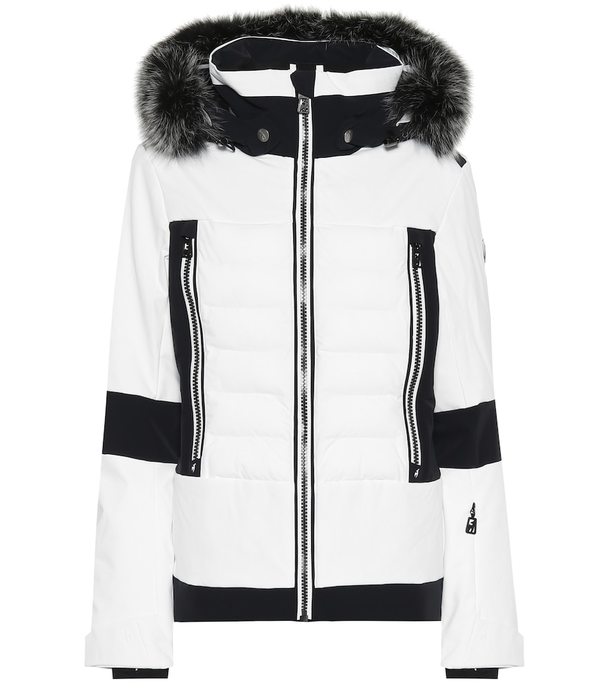 TONI SAILER Manou Fur-Trimmed Ski Jacket in White