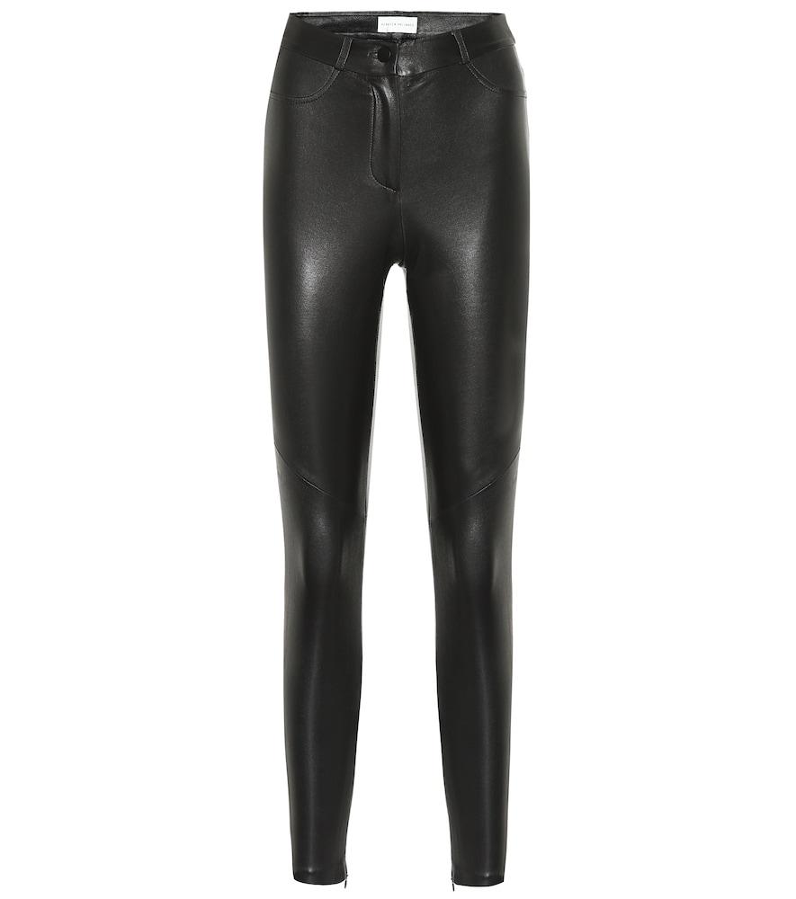 Pantalon skinny Coco en cuir