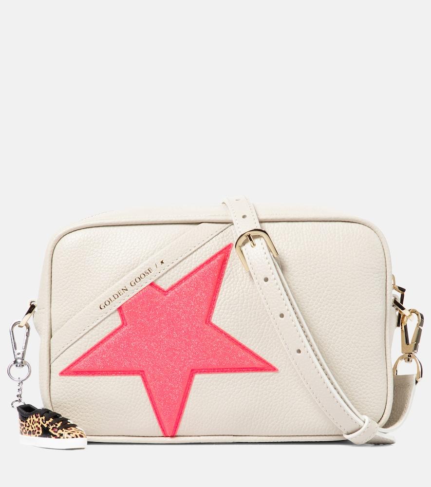 Golden Goose Star Bag White Leather Shoulder Bag