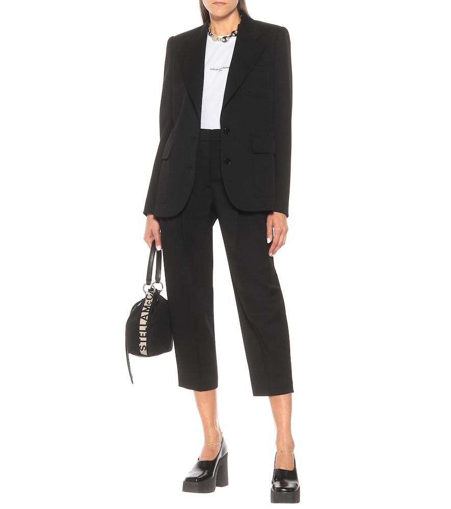 Photo of Briana stretch-wool blazer by Stella McCartney - shop Stella McCartney Jackets, Blazers online