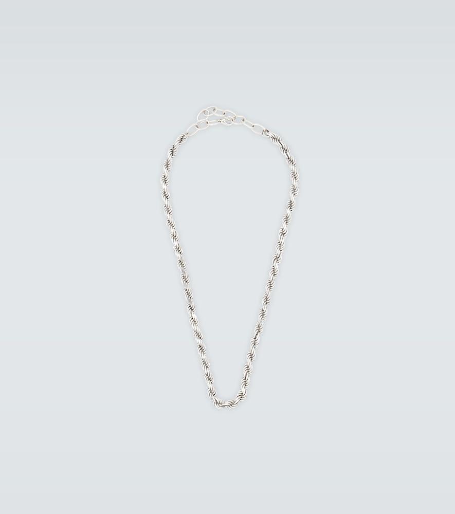 Collier chaîne en argent - Bottega Veneta - Modalova