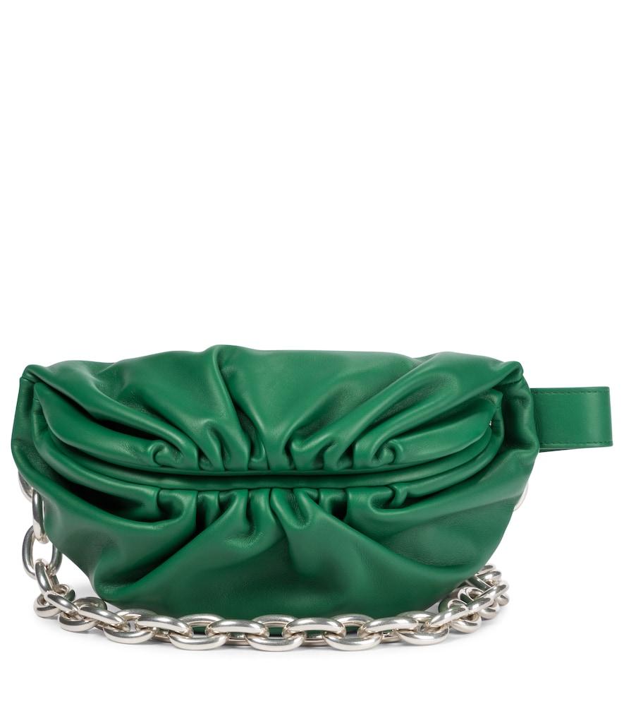 Bottega Veneta THE CHAIN POUCH LEATHER BELT BAG