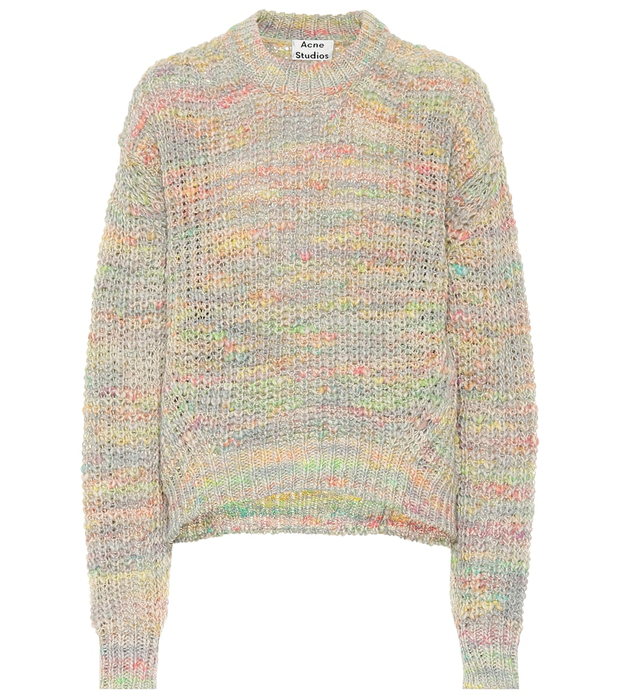 6de4bb81 Acne Studios Kora Chunky-Knit Cotton And Wool-Blend Jumper In ...