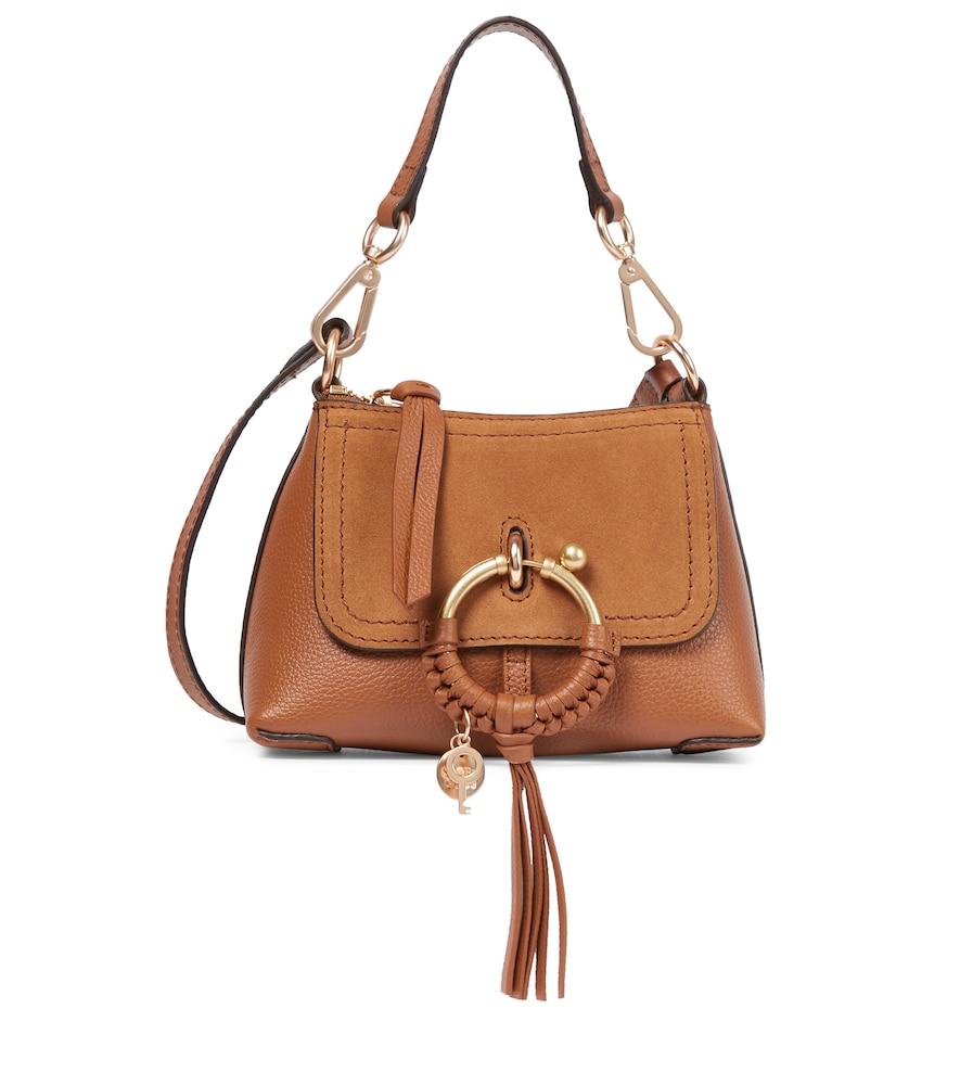 SEE BY CHLOÉ   Joan Mini Leather Crossbody Bag   Goxip