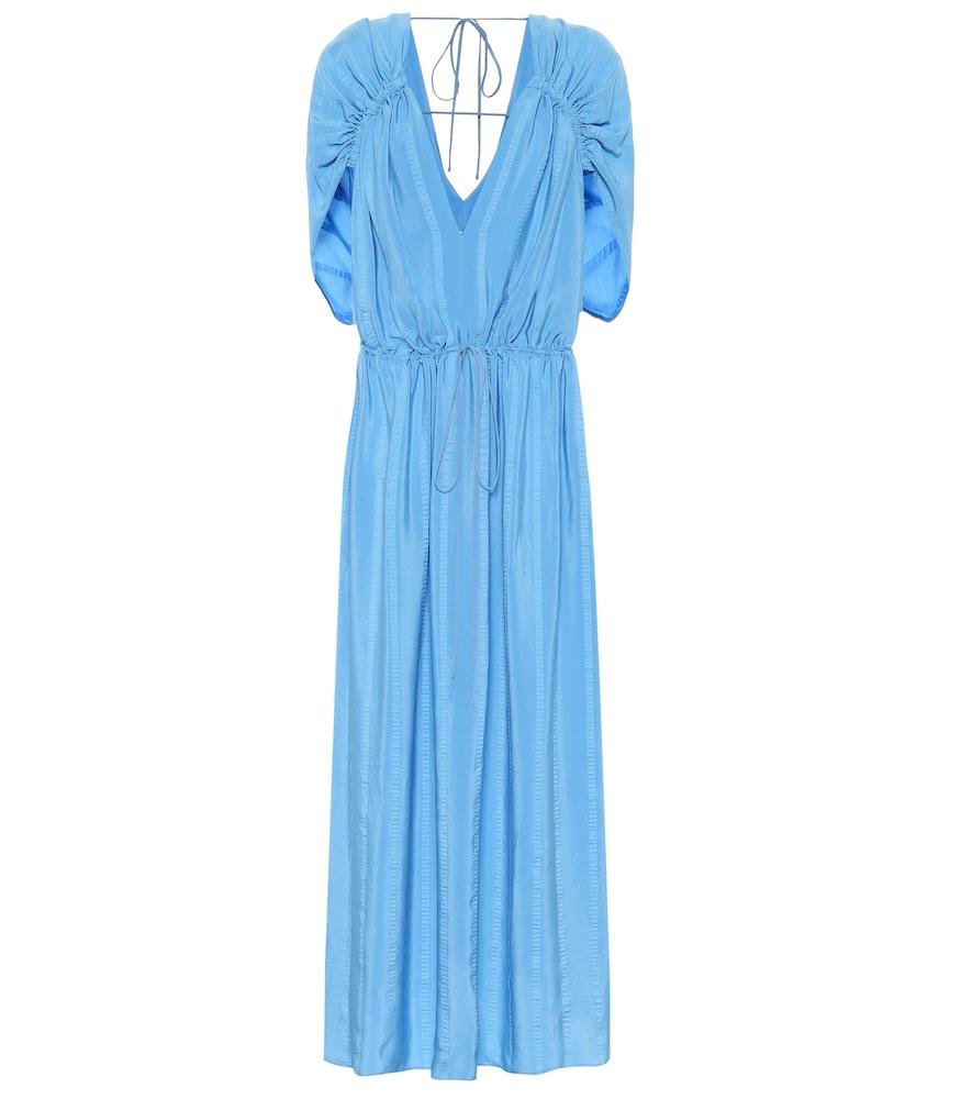 Monica silk-blend maxi dress by Stella McCartney