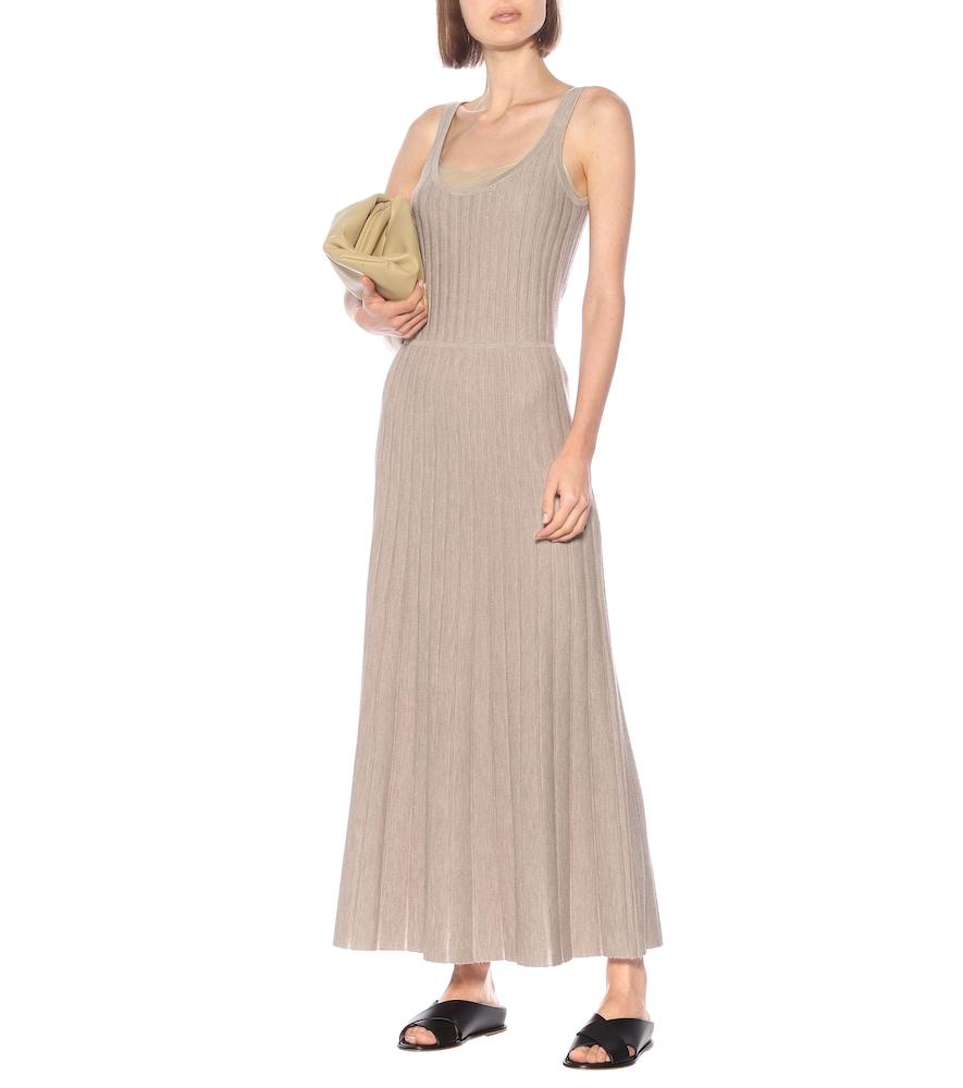 Photo of Josephine cashmere-blend dress by Gabriela Hearst - shop Gabriela Hearst Dresses, Midi & Long online