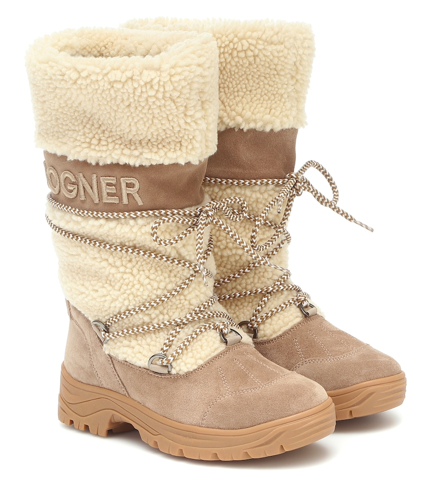 Alta Badia 2 shearling snow boots